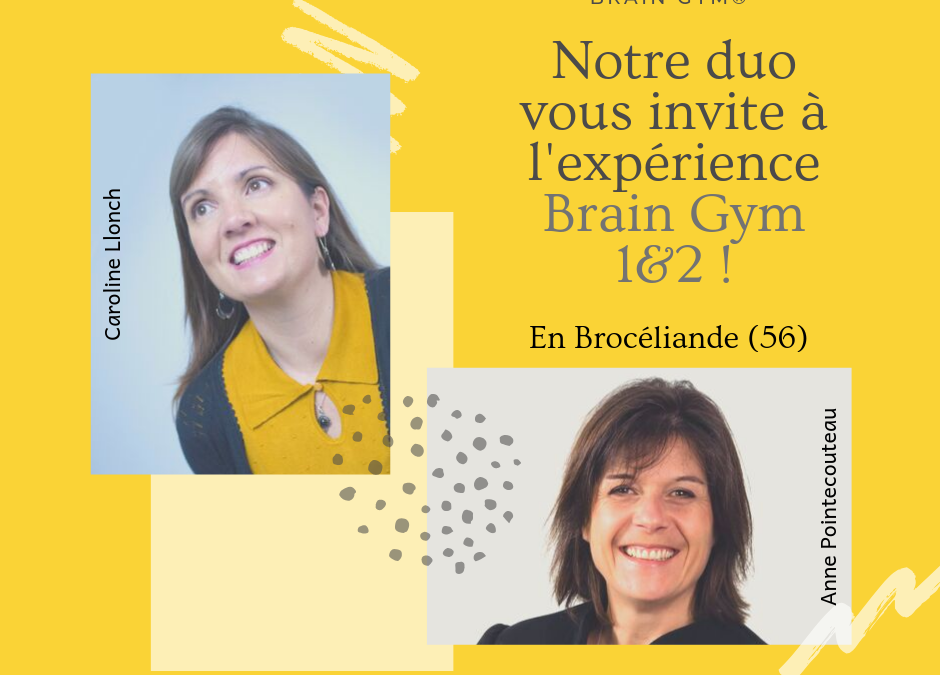 Brain Gym 1 et 2 printemps 2020